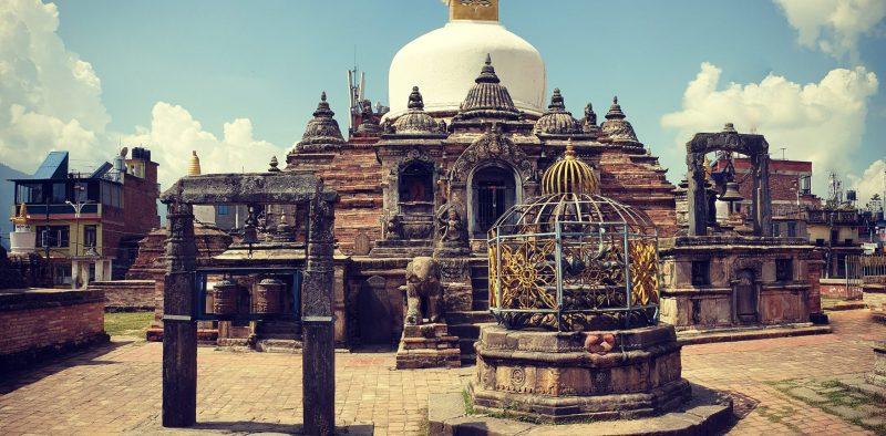 Ступа в Непале
